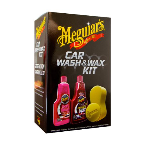 Meguiars Car Wash Wax Kit