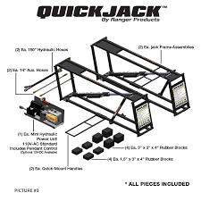 Quick Jack Bl 7000slx Portable Car Lifting System Poor Boys